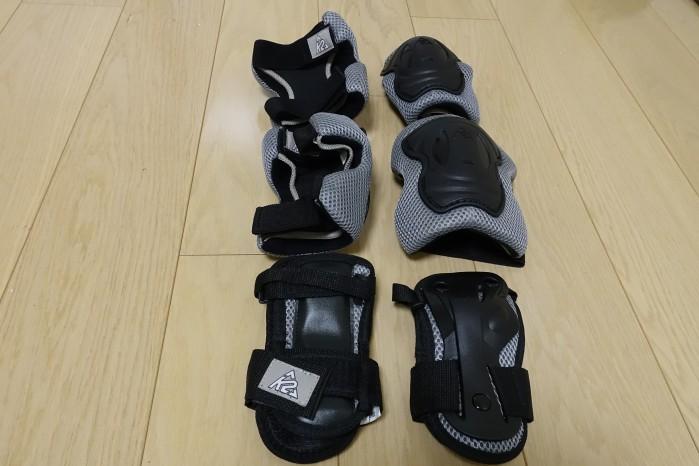 K2 Moto Pad Set 開封